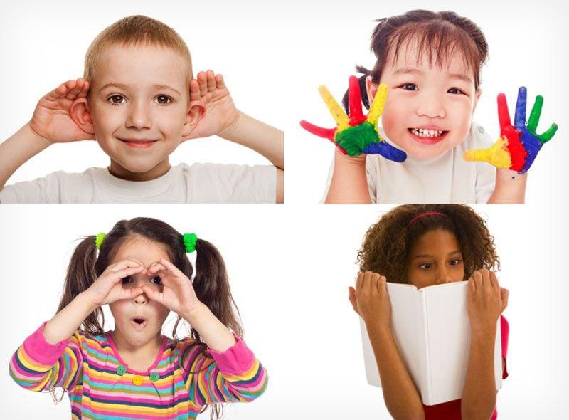 Ощущение и восприятие у детей