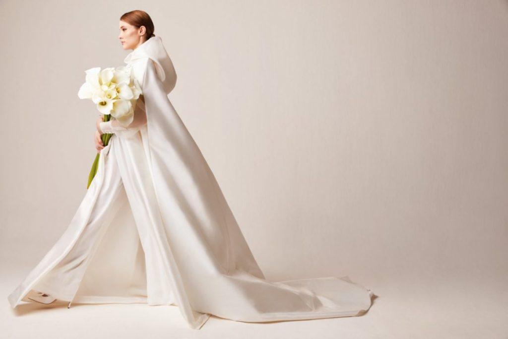 fashionable wedding cape accessory 2020