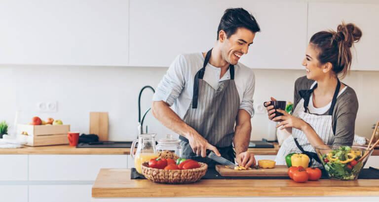 Интересные решения интерьера и дизайна кухни.