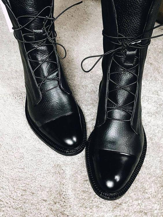 Модные тенденции осенней и зимней обуви..