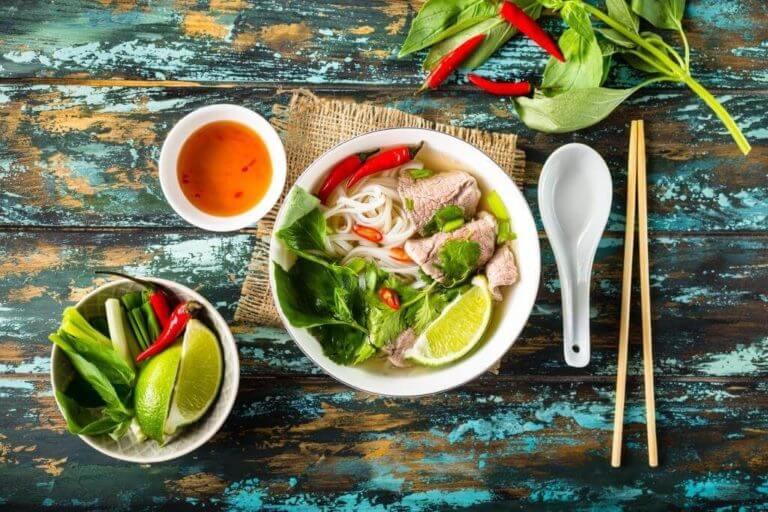 Первые блюда разных регионов Азии