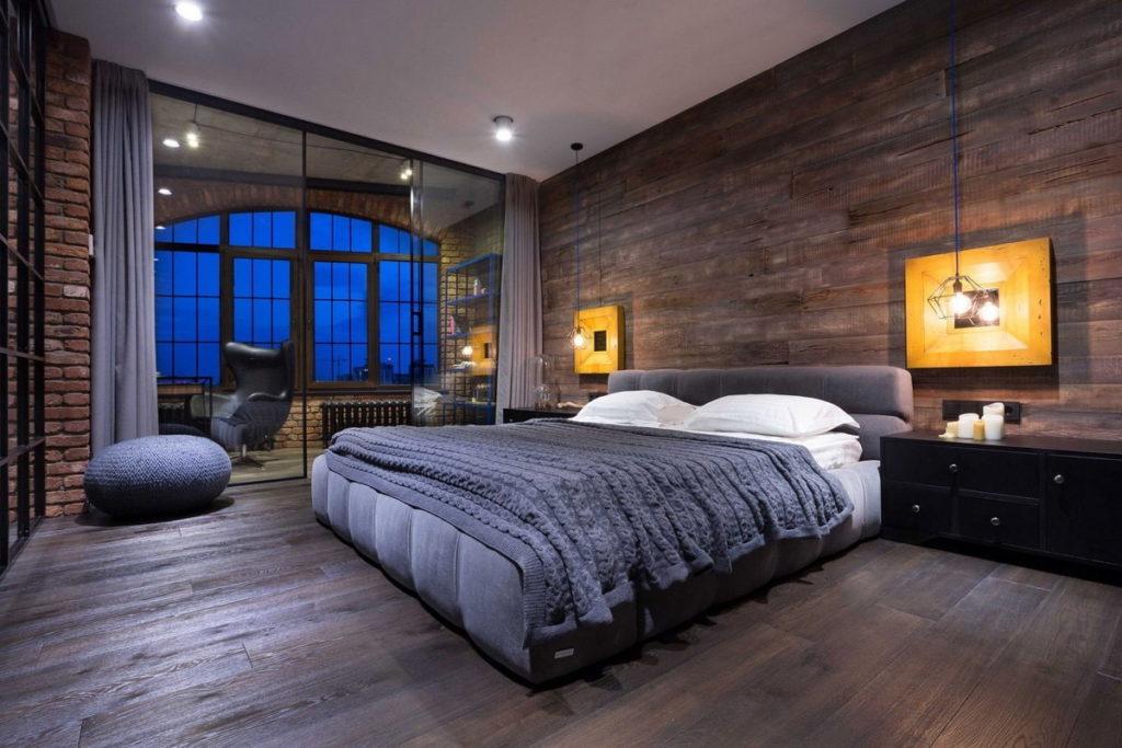 spal'nya v stile loft