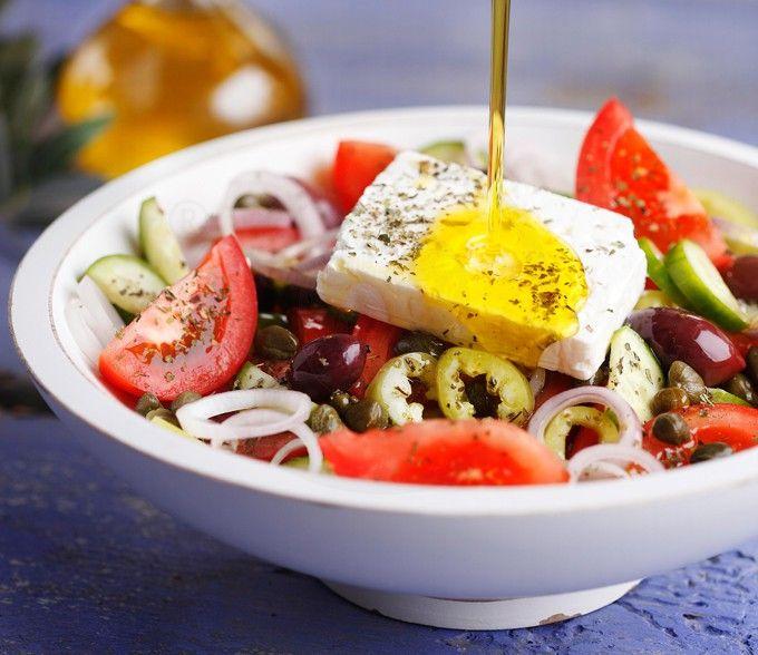 греческий салат ингредиенты классический рецепт