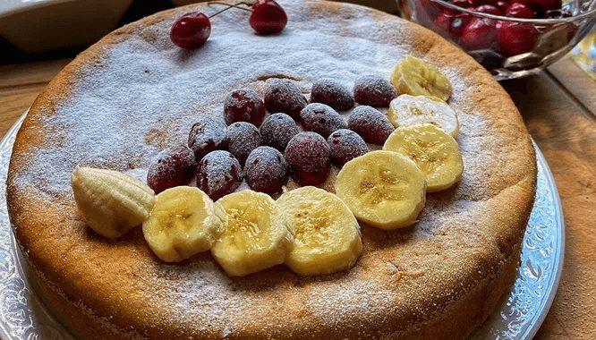 Банановый пирог рецепт в домашних условиях от Юлии Ковальчук.