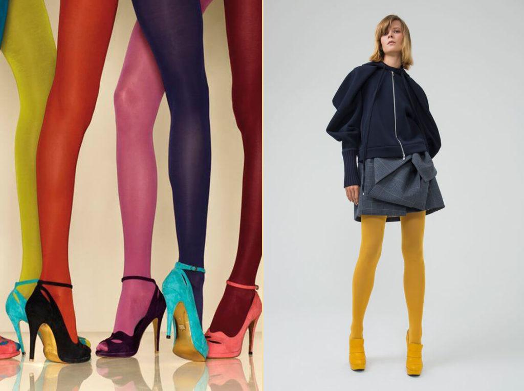 Модные колготки сезона осень-зима 7 модных вариантов...
