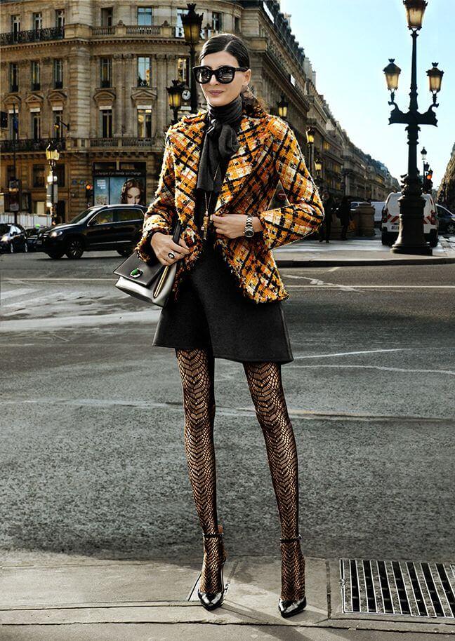 Модные колготки сезона осень-зима 7 модных вариантов.8