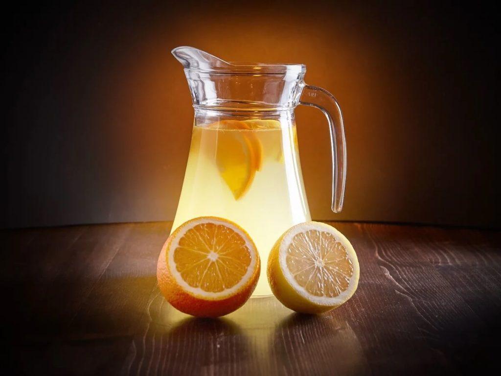 Освежающий цитрусовый лимонад пошаговый рецепт.7