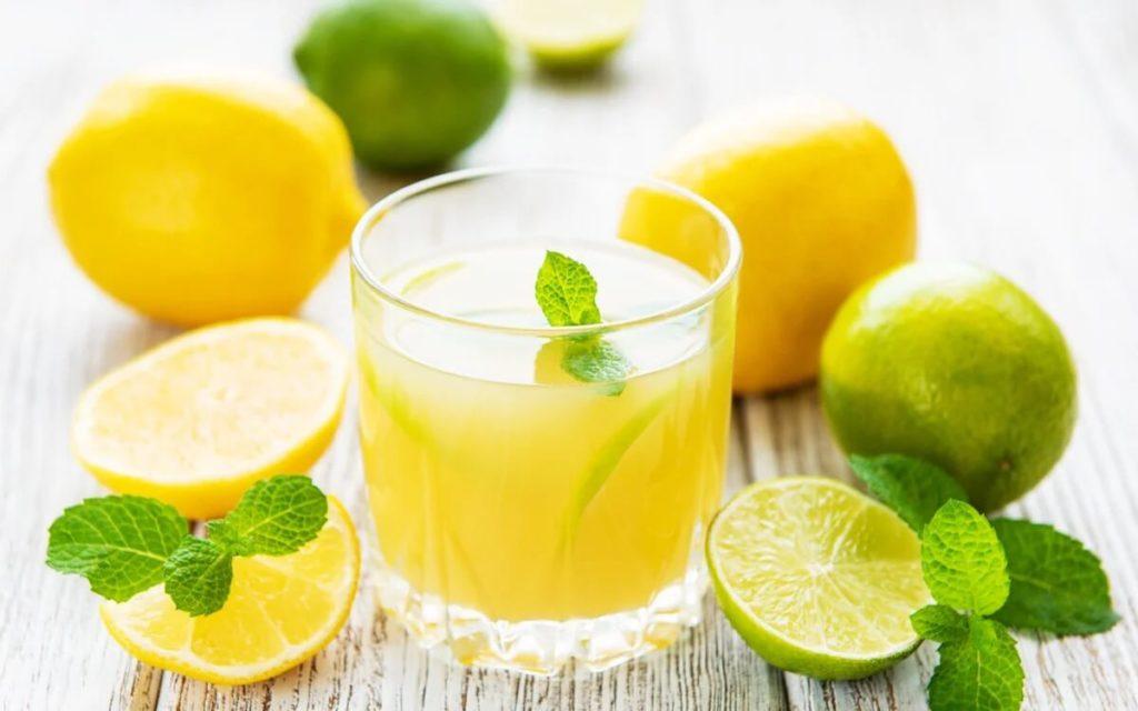 Освежающий цитрусовый лимонад пошаговый рецепт.