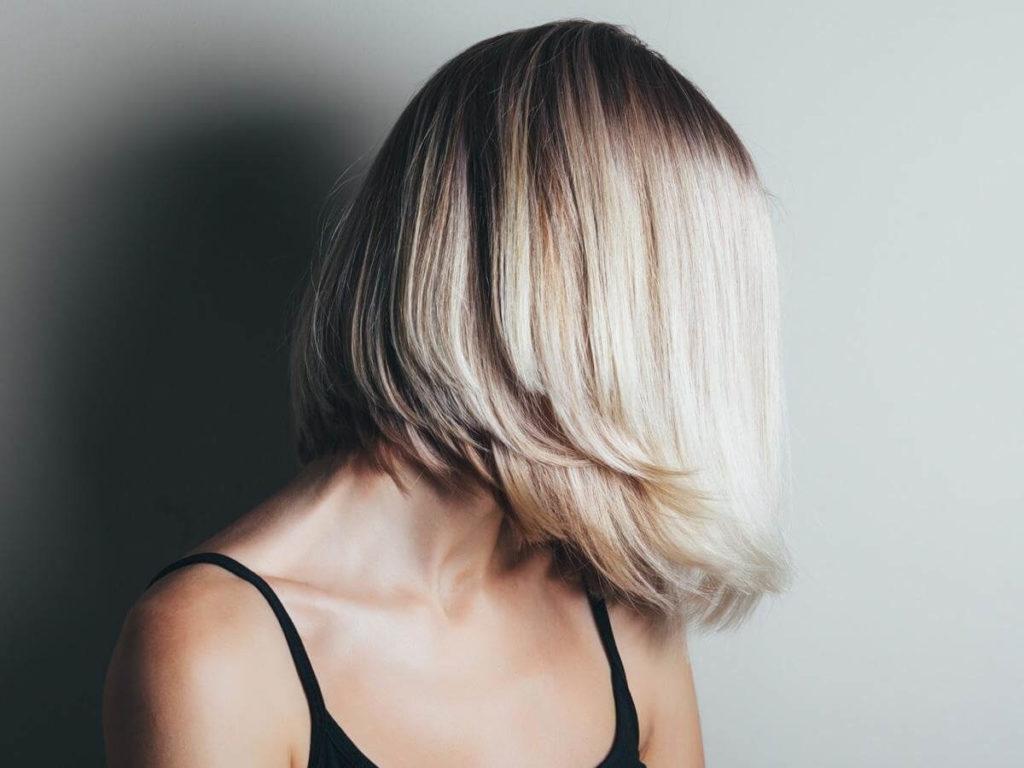 6 женских стрижек на волосы средней длины.