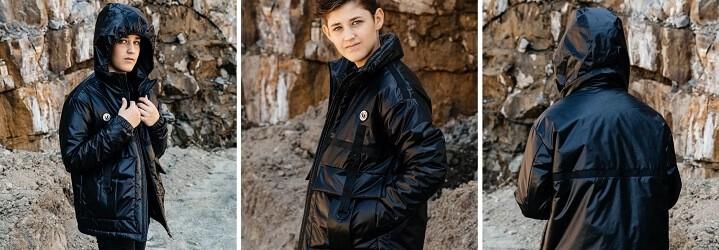 Модная коллекция зимней детской одежды.10