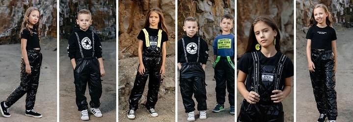 Модная коллекция зимней детской одежды.13
