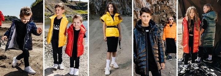 Модная коллекция зимней детской одежды.2