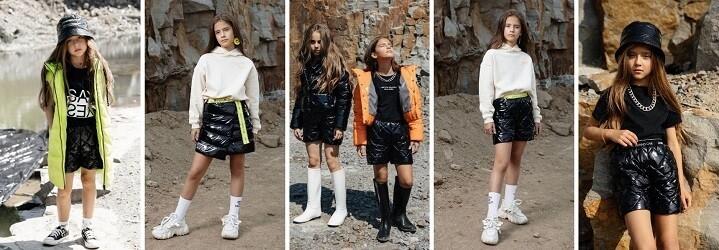Модная коллекция зимней детской одежды.6