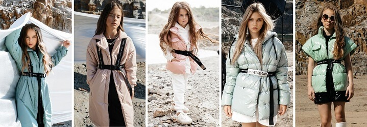 Модная коллекция зимней детской одежды.9
