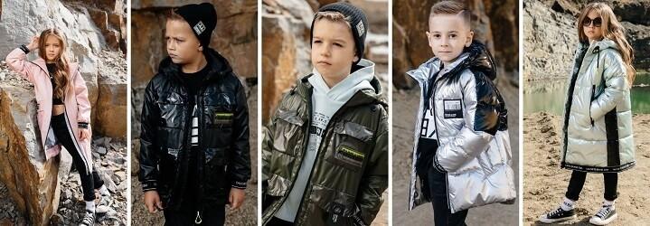 Модная коллекция зимней детской одежды4