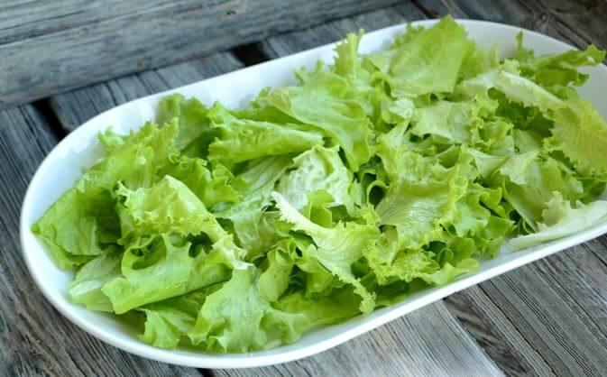 Пикантный тёплый салат с курицей.6
