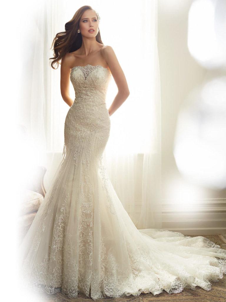 Свадебные платья – модные тренды сезона.13