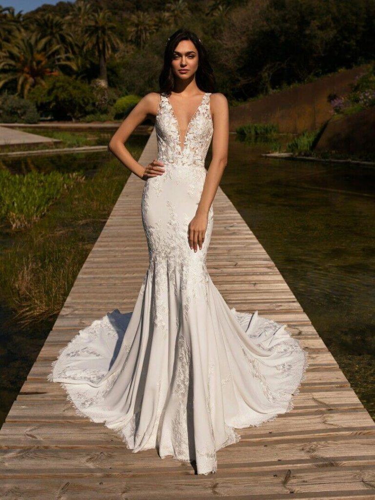 Свадебные платья – модные тренды сезона.14