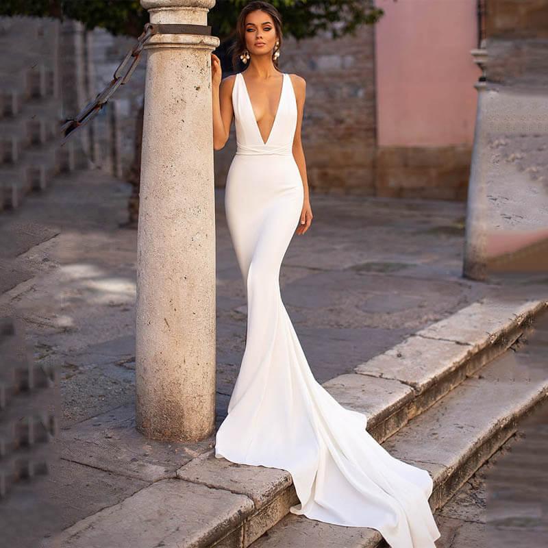 Свадебные платья – модные тренды сезона.16