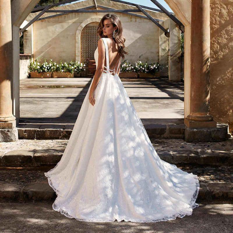 Свадебные платья – модные тренды сезона.4
