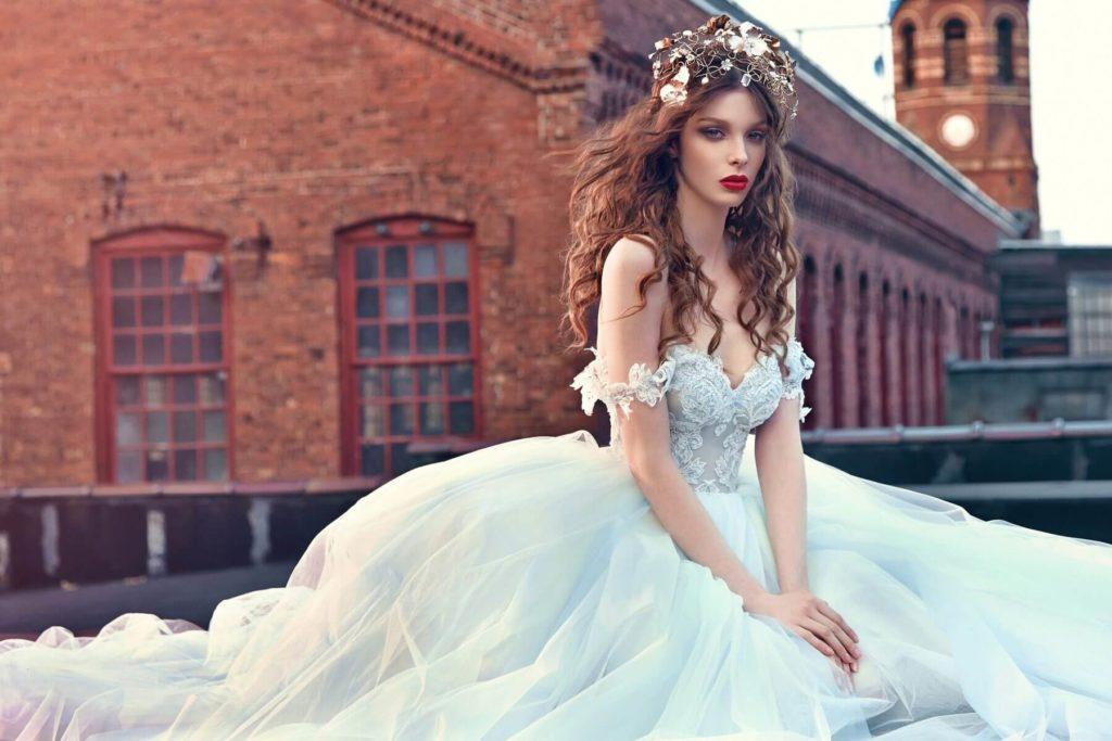 Свадебные платья – модные тренды сезона.5