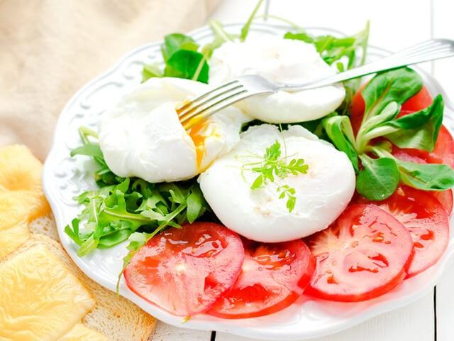 Яйцо пашот пошаговый рецепт.1