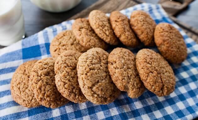 Овсяное печенье как в детстве пошаговый рецепт.3