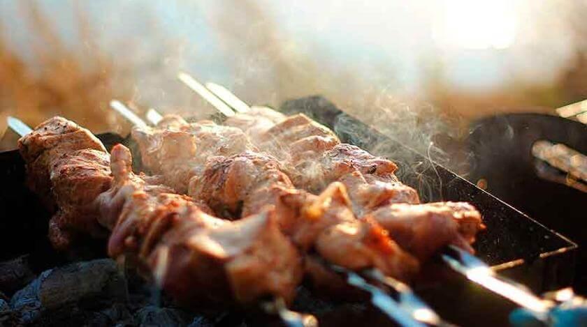 Свиной шашлыка от шеф-повара Константина Ивлева.1