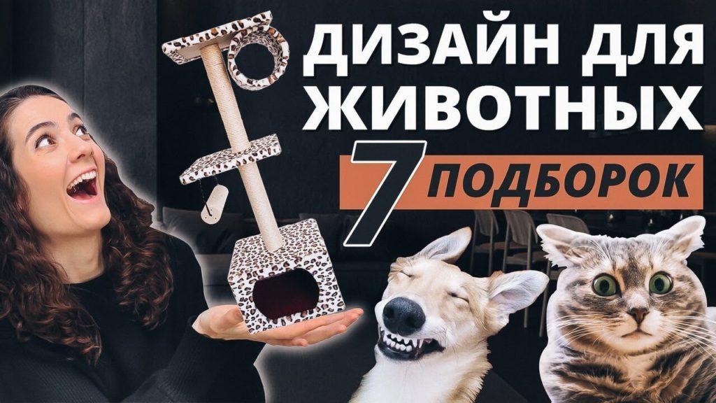 Дизайнерская мебель для кошек и собак.