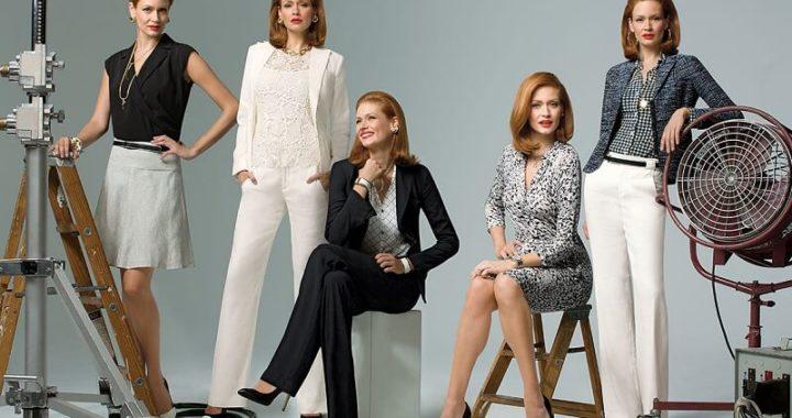 Офисный стиль для зрелых женщин на лето.