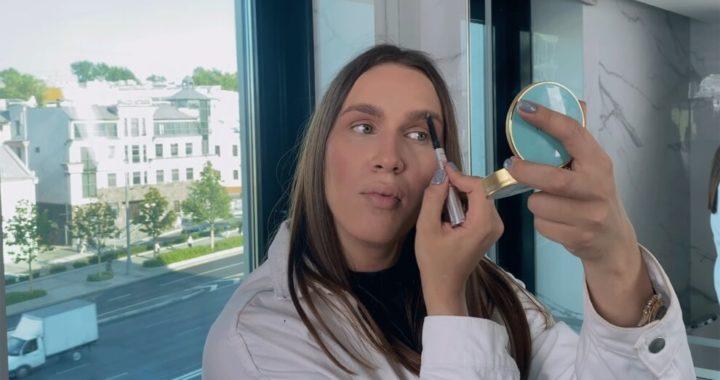 Стойкий вечерний макияж от Алексея Жидковского.