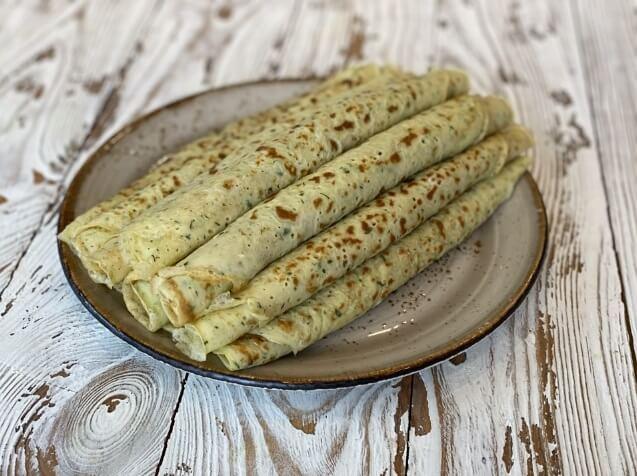 Тонкие блины из кабачков быстро, вкусно и просто.