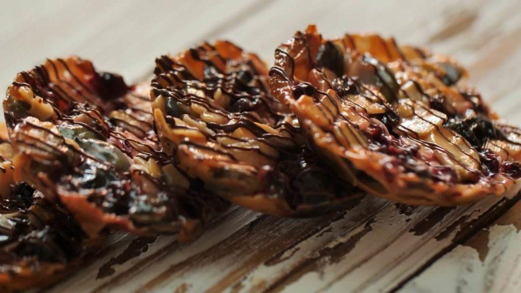 Бесподобное Флорентийское ореховое печенье.