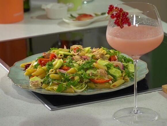 Средиземноморский салат с макрелью от Юлии Высоцкой.1