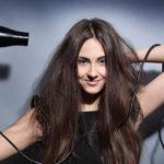 Супер объемная укладка на тонкие волосы феном.